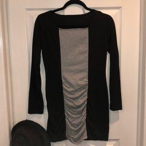 Black and Gray Tunic